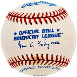 Unsigned Official Gene Budig AL Baseball SKU #196783
