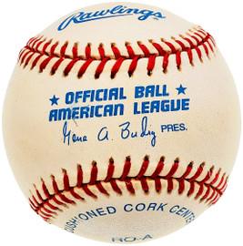 Unsigned Official Gene Budig AL Baseball SKU #196784
