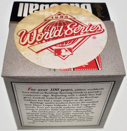Unsigned Sealed Official 1994 World Series Official MLB Baseball SKU #196788