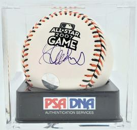Ichiro Suzuki Autographed Official 2007 All Star Game MLB Baseball Seattle Mariners PSA 10 PSA/DNA #81892279