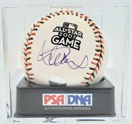 Ichiro Suzuki Autographed Official 2007 All Star Game MLB Baseball Seattle Mariners PSA 10 PSA/DNA #81892296