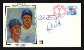 Carl Furillo & Roy White Autographed First Day Cover SKU #196894