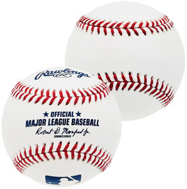 Unsigned Official MLB Baseball Stock #197025