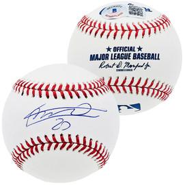 Vladimir Guerrero Jr. Autographed Official MLB Baseball Toronto Blue Jays Beckett BAS Stock #197032