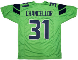 Unsigned Seattle Seahawks Green Jersey to be signed by Kam Chancellor Saturday September 25th Starting at 4:30 PM **Requires Autograph Ticket To Be Signed**