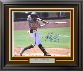 Fernando Tatis Jr. Autographed Framed 16x20 Photo San Diego Padres Beckett BAS Stock #197153