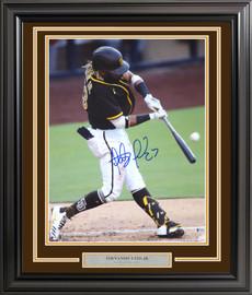 Fernando Tatis Jr. Autographed Framed 16x20 Photo San Diego Padres Beckett BAS Stock #197154