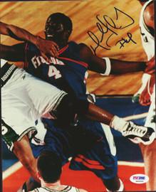 Donnell Harvey Autographed 8x10 Photo Florida Gators PSA/DNA #S40445