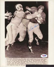 Don Paul Autographed 8x10 Photo Chicago Cardinals PSA/DNA #S28565