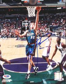 Christian Laettner Autographed 8x10 Photo Detroit Pistons PSA/DNA #S46442