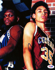 Zach Randolph & Jared Jeffries Autographed 8x10 Photo PSA/DNA #S46954