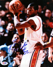 Rashad McCants Autographed 8x10 Photo UNC Tar Heels PSA/DNA #S46974