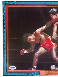 Kid Gavilan Autographed Magazine Cover PSA/DNA #S47120