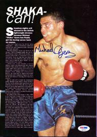 Michael Ayers Autographed Magazine Page Photo PSA/DNA #S47471