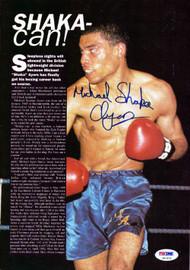 Michael Ayers Autographed Magazine Page Photo PSA/DNA #S47472