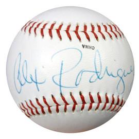 Alex Rodriguez Autographed Midwest League Baseball Mariners, Yankees PSA/DNA #S75221