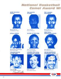 Bill Bradley & Daryl Walker Autographed Magazine Page Photo PSA/DNA #S64998