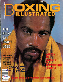 Ken Norton Autographed Sports Illustrated Magazine Cover PSA/DNA #S48557