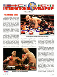 Diego Corrales Autographed Magazine Page Photo PSA/DNA #S47513