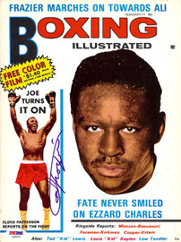 Joe Frazier Autographed Boxing Illustrated Magazine Cover PSA/DNA #S48979