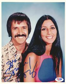 Sonny Bono Autographed 8x10 Photo PSA/DNA #Q90403