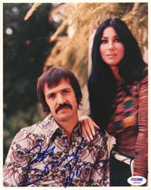 Sonny Bono Autographed 8x10 Photo PSA/DNA #Q90404