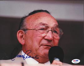Carmen Basilio Autographed 8x10 Photo PSA/DNA #S48365