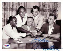 Carmen Basillo & John Bratton Autographed 7x9 Photo PSA/DNA #Q95772