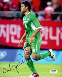 Aaron Galindo Autographed 8x10 Photo Mexico PSA/DNA #U54291