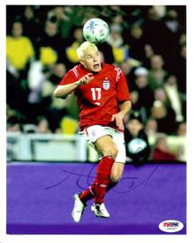 Alan Smith Autographed 8x10 Photo Manchester United PSA/DNA #U54327