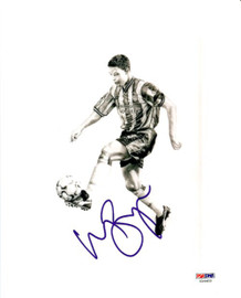 Wayne Bridge Autographed 8x10 Photo Chelsea PSA/DNA #U54403