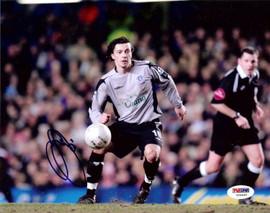 Simon Davies Autographed 8x10 Photo Everton PSA/DNA #U54449