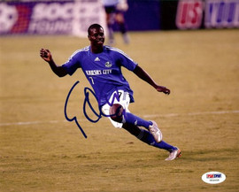 Eddie Johnson Autographed 8x10 Photo Team USA PSA/DNA #U54459