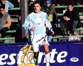 Claudio Lopez Autographed 8x10 Photo Argentina PSA/DNA #U54465
