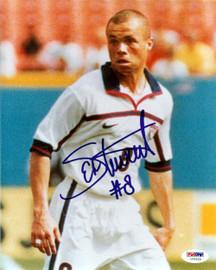 Ernie Stewart Autographed 8x10 Photo Team USA PSA/DNA #U54620