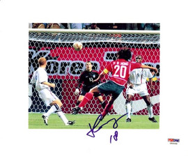 Hong Myung-Bo Autographed 8x10 Photo South Korea PSA/DNA #U54688