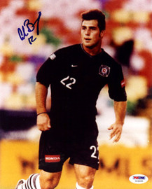 Carlos Bocanegra Autographed 8x10 Photo Team USA PSA/DNA #U54689