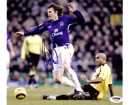 Kevin Kilbane Autographed 8x10 Photo Everton PSA/DNA #U54883