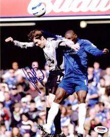 Kevin Kilbane Autographed 8x10 Photo Everton PSA/DNA #U54884
