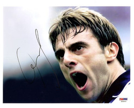 Claudio Lopez Autographed 8x10 Photo Argentina PSA/DNA #U54902