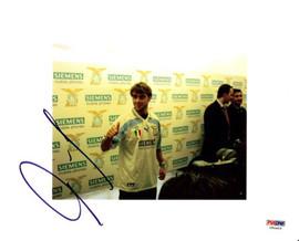 Claudio Lopez Autographed 8x10 Photo Argentina PSA/DNA #U54903