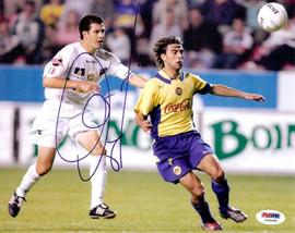 Claudio Lopez Autographed 8x10 Photo Argentina PSA/DNA #U54908
