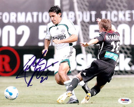 Pablo Mastroeni Autographed 8x10 Photo Rapids PSA/DNA #U54933