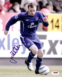 James McFadden Autographed 8x10 Photo Everton PSA/DNA #U54958