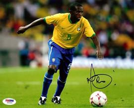 "Carlos Luciano da Silva ""Mineiro"" Autographed 8x10 Photo Brazil PSA/DNA #U54969"