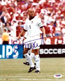 Earnie Stewart Autographed 8x10 Photo Team USA PSA/DNA #U58412