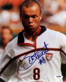 Earnie Stewart Autographed 8x10 Photo Team USA PSA/DNA #U58416
