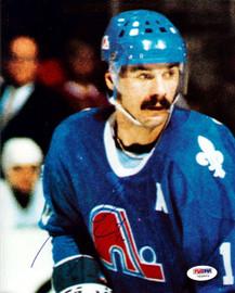 Michael Goulet Autographed 8x10 Photo Quebec Nordiques PSA/DNA #U58853