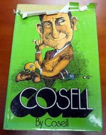 Howard Cosell Autographed Book PSA/DNA #U58374
