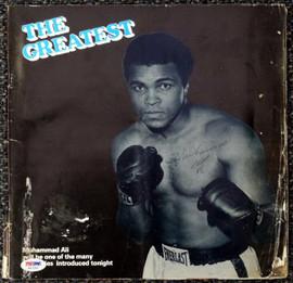 Muhammad Ali Autographed Magazine PSA/DNA #H47292